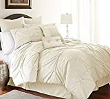 Comforter Sets Premium Queen/ King Size Set in 8 Piece Adult Luxury Elegant Design (Queen)