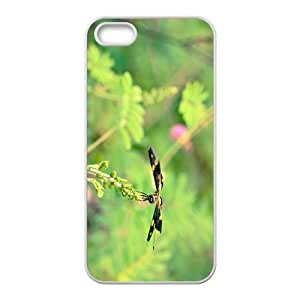 Green Dragonfly Hight Quality Plastic Case for Iphone 5s by icecream design