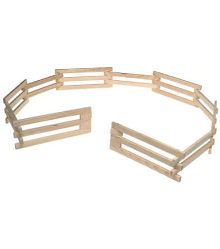 (Breyer Traditional Wood Corral Fencing Accessory Toy)