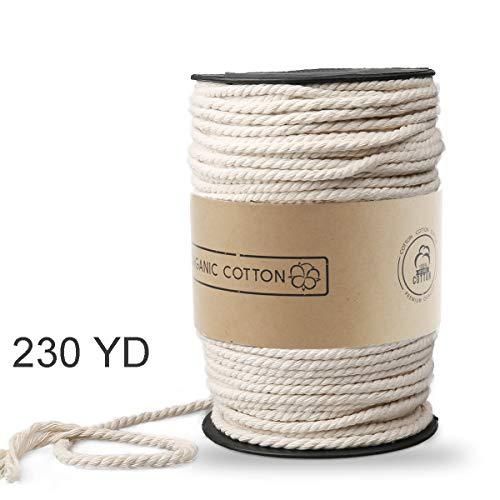 Macrame Cord ZOUTOG 4mm