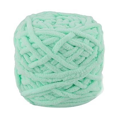 eDealMax Festival de poliéster del Regalo DIY de la bufanda del suéter el hilado del cordón