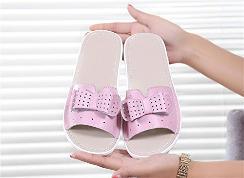 Sandals Block Shoe Sandal On Everyday High Slip Trendy Comfortable Slipper Heel Queena Slide Pink Heel Wheeler 0qH6RgxnwU