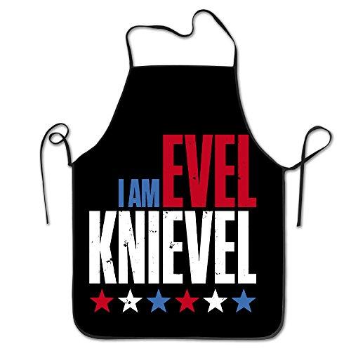 Evel Knievel Costume Helmet (Evel Knievel Classic Lockrand Apron One Size)
