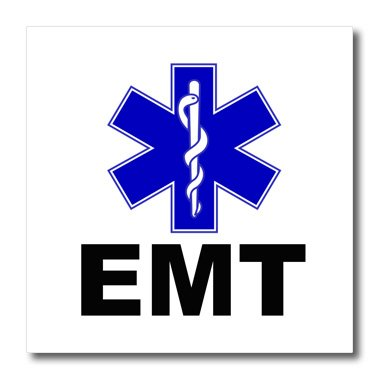 (3dRose ht_159582_1 Emt. Emergency Medical Technician. Doctor. Nurse-Iron on Heat Transfer Paper for White Material, 8 by 8-Inch)