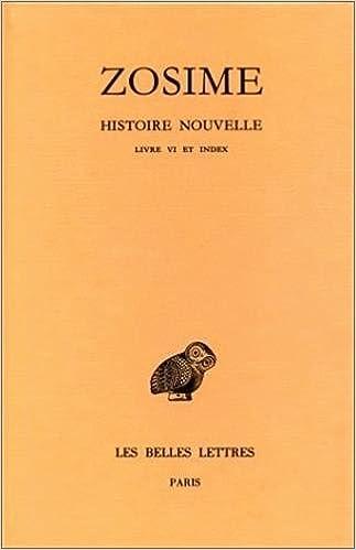 Livres gratuits en ligne Histoire nouvelle. Livre VI et index pdf