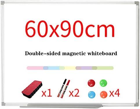 磁気ドライイレースボードセット - ウォールは、ドライ消しゴムでリバーシブルホワイトボードをマウント