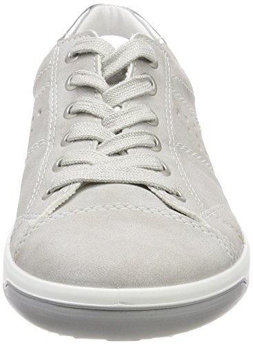 Gris pebble Jenny Sneakers Femme Silber Miami Basses xwqRIrgq