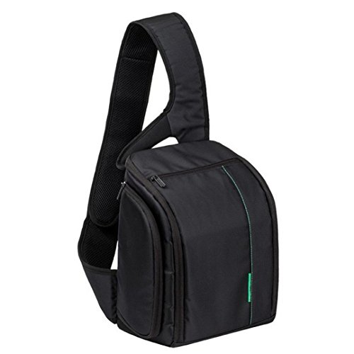 GBSELL New Camera Bag Adjustible Waterproof Backpack DSLR Case for Canon Nikon Sony,Green