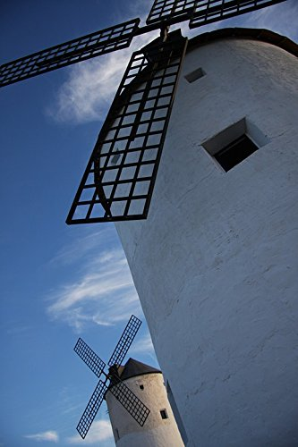 Home Comforts LAMINATED POSTER Windmill Don Quixote Mill Mills Windmills Stain Poster Print