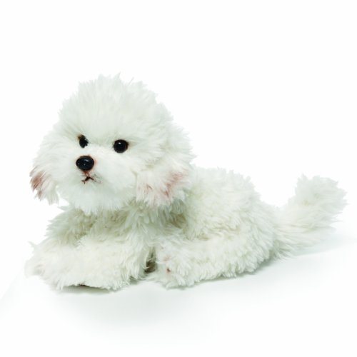 Toy Bichon Frise - Nat and Jules Bichon Frise Plush Toy, Large