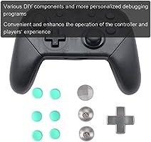 Juego de Botones Metálicos de 14 Piezas Juego de Palanca de Mando para Xbox One Elite / PS4 / Switch(Verde): Amazon.es: Electrónica