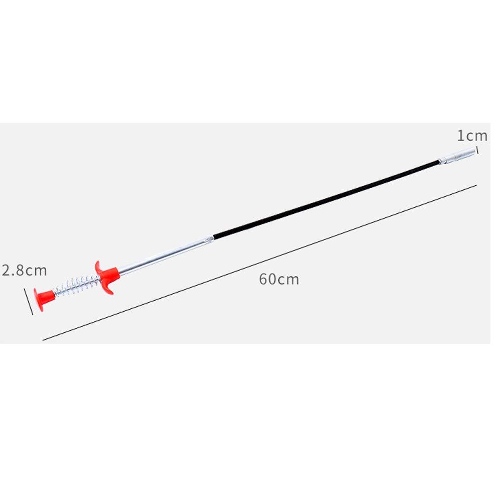 Desatascador Tuberias Profesional,Alambre Desatascador Tuberias 0.6M