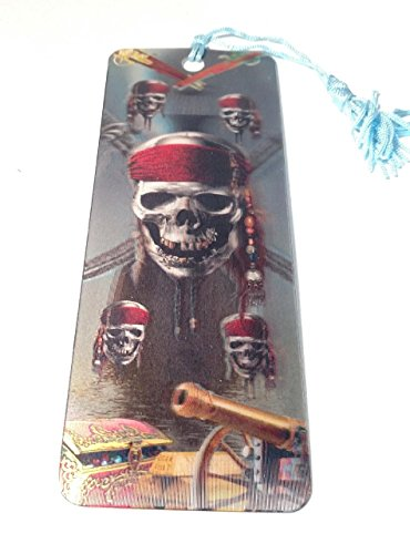 Pirate Bookmarks (Advanced 3 D Lenticular Bookmark with Tassel (Pirates))