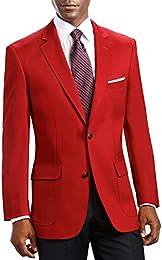 Amazon.com: Red - Sport Coats &amp Blazers / Suits &amp Sport Coats