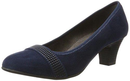 de para 22474 Softline Tacón Mujer Navy Azul Zapatos Bvq4w