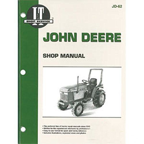 JD62 New Shop Manual for John Deere Compact Tractor 1070 655 770 870 ()