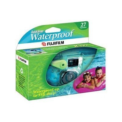 2T40461 - Fujifilm QuickSnap Waterproof 35mm Disposable Camera