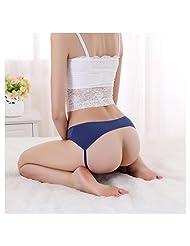 Women Sexy Lace Open Butt Backless Panties Thongs Lingerie Underwear