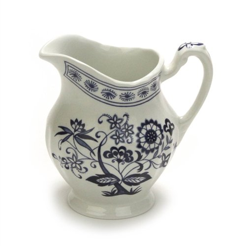 - Blue Nordic by Meakin, J & G, China Cream Pitcher