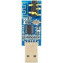 Módulo de áudio Bluetooth, Módulo de áudio sem fio, para telefone/iOS para computador com Bluetooth