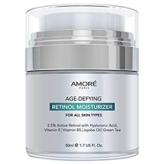 Retinol 2.5% High Potency Anti-Aging Moisturizer Cream (1.7 Fl. Oz.)