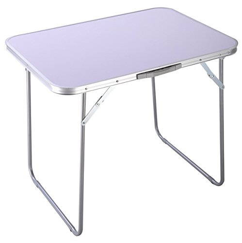 Foldable Camping Table Multipurpose Portable Indoor Outdoor Patio Garden Picnic Party Dining Camping Hiking Banquet Buffets Barbecues Table Desk Fold Legs (Patio Bjs Umbrellas)