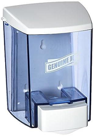 Genuine Joe GJO29425 - Dispensador de jabón para relleno a granel, manual, 887 ml, ahumado: Amazon.es: Amazon.es