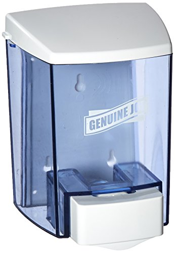 Genuine Joe GJO29425 Bulk Fill Soap Dispenser, Manual, 30 fl oz (887 mL), Smoke