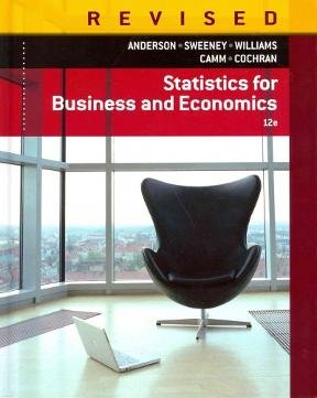 Statistics for Business and Economics 12th Edition Revised (Statistics For Business & Economics Revised 12th Edition)