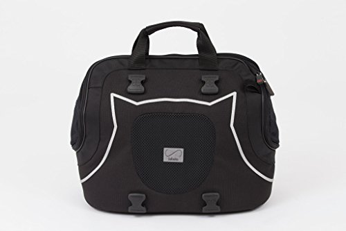 Petego Infinita Universal Sport Bag Pet Carrier, Black