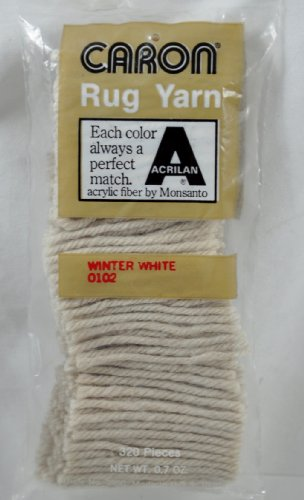 caron-latch-hook-yarn-320-precut-pieces-winter-white