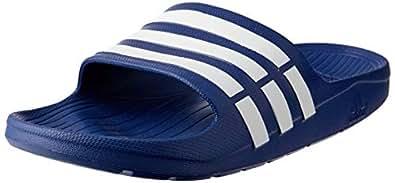 adidas Men's Duramo Slide, Blue (True Blue/White/True Blue), 6.5 US