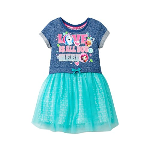 Price comparison product image Beat Bugs Dress for Girls Toddler Tutu Skirt Tulle Jay Kumi Buzz (3T)