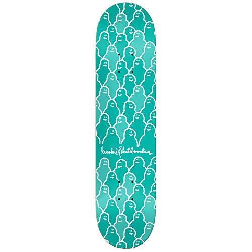 """Krooked Skateboard Deck Krouded Green 8.06"""""""