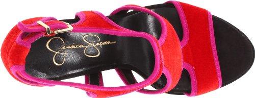 de Jessica sandales Plateforme Very Bruno Femmes Red Simpson 4SU7xSwnZ