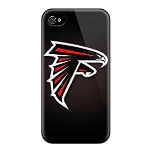 Scratch Protection Cell-phone Hard Cover For Iphone 6 With Customized Fashion Atlanta Falcons Series LauraFuchs