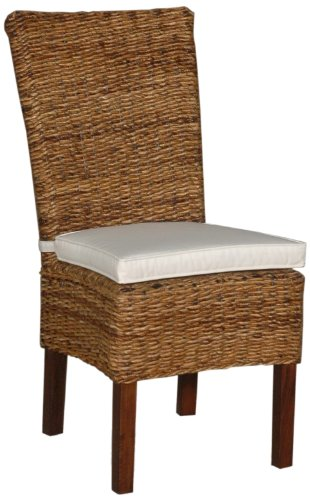 Jeffan International Farra Abaca Astor Chair, Small by Jeffan International