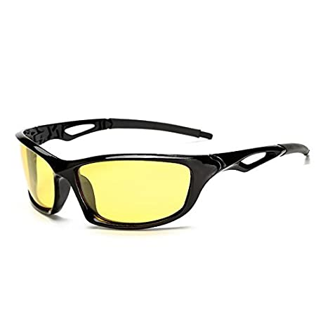 Cycling Polarized Sports Sunglasses for Men Women Cycling Running Glasses Polarized Sports Sunglasses Superlight Frame Design for Mens and Womens Running/Cycling/Skiing/Snowboarding Color : Black Red