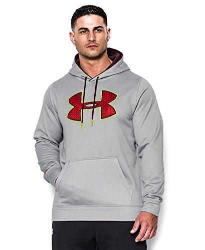 Men's UA Storm Armour Fleece Gametime Big Logo Hoodie