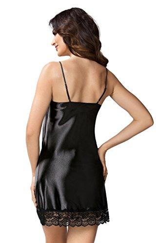 Camicia Schwarz Da Donna Notte 3 Modell nUxw0xqBCd