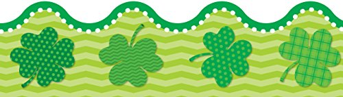 St. Patrick's Day Scalloped Borders