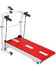 BABYCOW Koşu Bandı Katlanabilir, Mini Koşu Bandı Ultra Sessiz Mekanik Fitness Koşu Makinesi Yürüyüş Makinesi, Ev Spor Salonu Kilo Kaybı Koşu Bandı