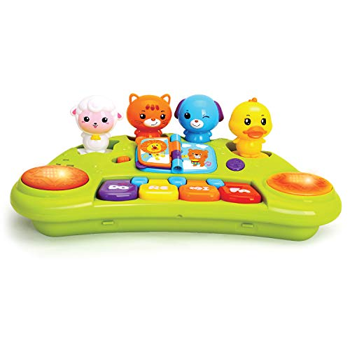 JOYIN Baby Cute Animal Piano Keyboard Music Activity