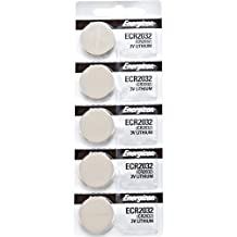 5 x Energizer 2032 Watch Batteries, 3V Lithium CR2032