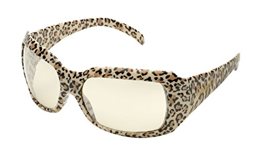 chica safety glasses leopard frame