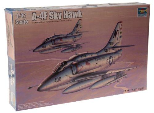 Trumpeter 1/32 A4F Skyhawk Attack Aircraft Model Kit ()