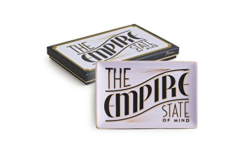 Rosanna 96887 The The Empire State Of Mind Jazz Age Tray, Multicolor