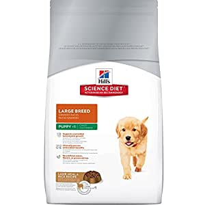 Hill's Science Diet Large Breed Puppy Food, Lamb Meal & Rice Recipe Dry Dog Food, 33 lb Bag