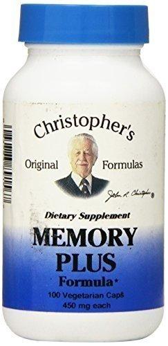 Dr Christopher's Cap For Memory Plus 100 cap ( Multi-Pack) by DR.CHRISTOPHER'S FORMULAS