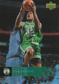 Tony Allen 2006 UD Reserve Basketball Card #7 (NM/M) Boston Celtics